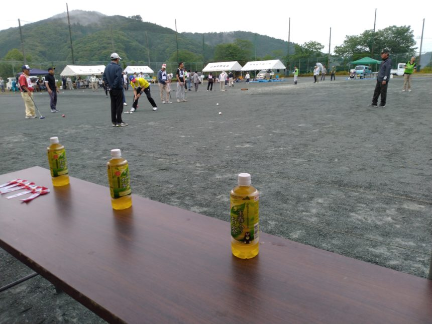 奥山地区ゲートボール大会